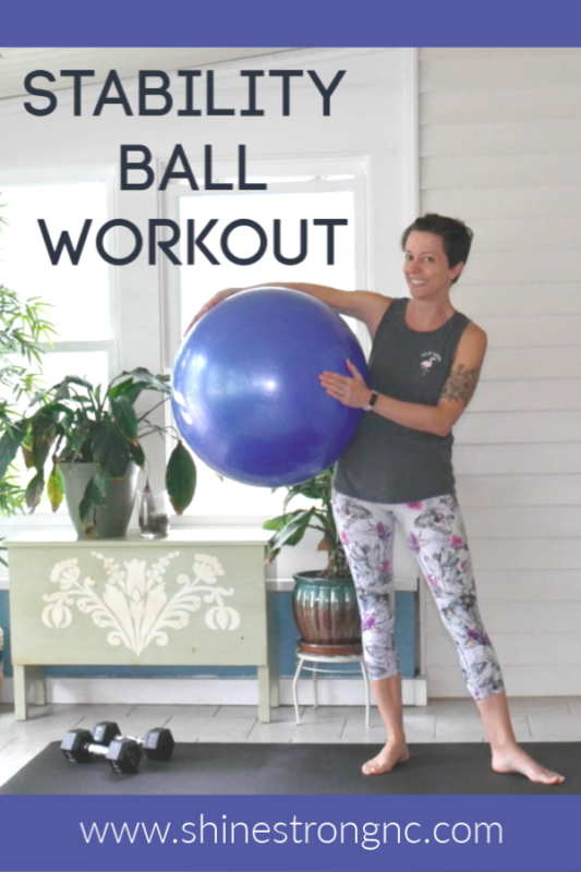 Stability Ball at-home Workout